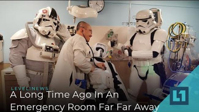 Embedded thumbnail for Level1 News December 20 2019: A Long Time Ago In An Emergency Room Far Far Away