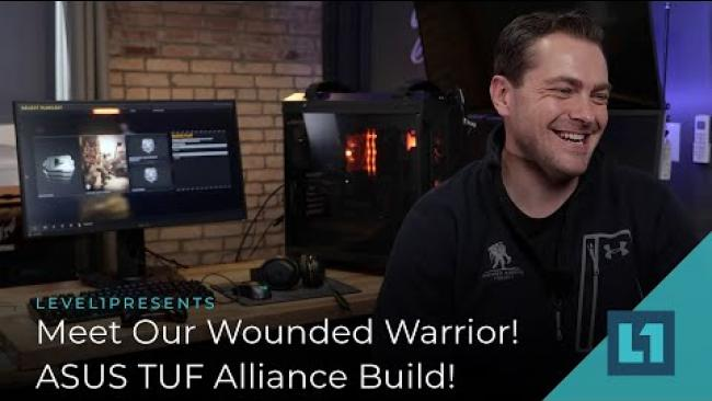 Embedded thumbnail for Meet Our Wounded Warrior! ASUS TUF Alliance Build