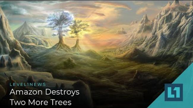 Embedded thumbnail for Level1 News August 13 2021: Amazon Destroys Two More Trees