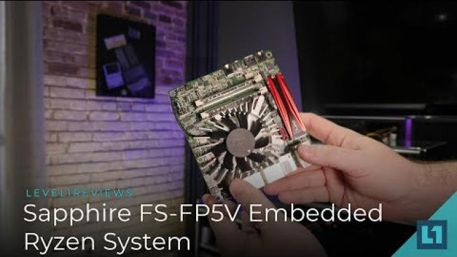 Embedded thumbnail for AMD v1000 Embedded: Sapphire FS-FP5V EXCLUSIVE FIRST LOOK