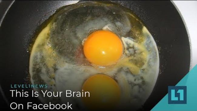 Embedded thumbnail for Level1 News September 3 2019: This Is Your Brain On Facebook
