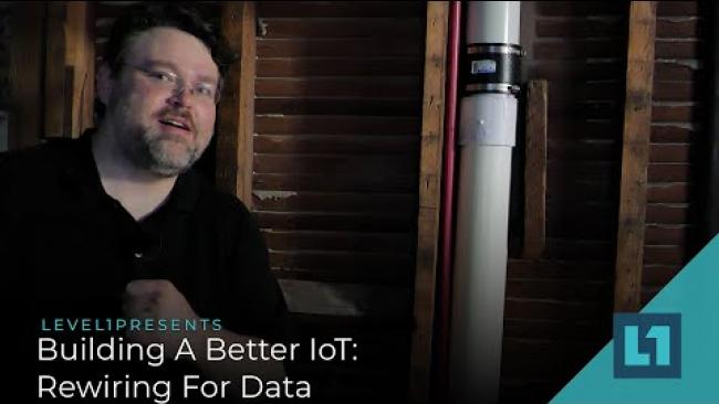 Embedded thumbnail for Building A Better IoT: Rewiring For Data