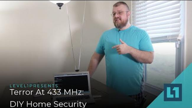 Embedded thumbnail for Terror At 433 MHz: DIY Home Security