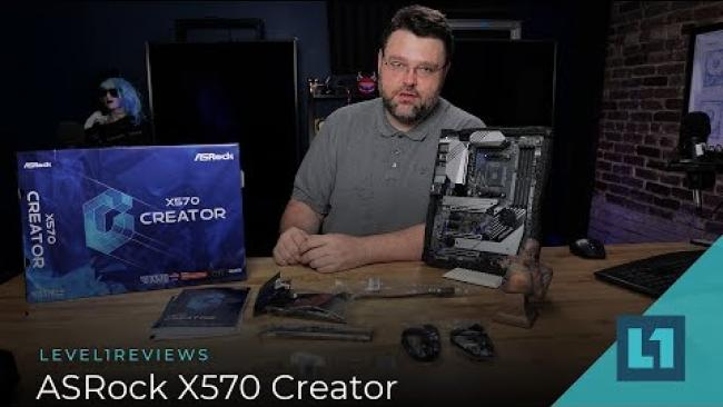 Embedded thumbnail for ASRock X570 Creator Review!