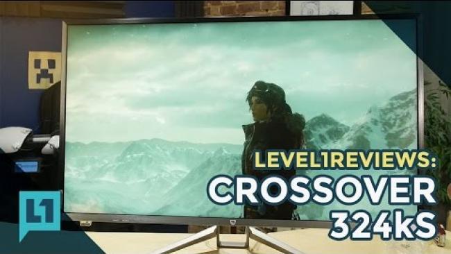 Embedded thumbnail for Review: Crossover 324kS LED 3840 X 2160 60Hz FreeSync Korean Monitor