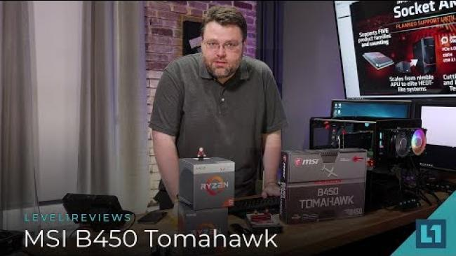 Embedded thumbnail for MSI B450 Tomahawk Socket AM4 Motherboard Review + Linux Test