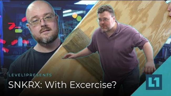 Embedded thumbnail for SNKRX: With Excercise?