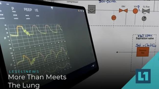 Embedded thumbnail for Level1 News April 15 2020: More Than Meets The Lung
