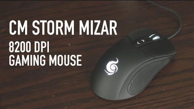 Embedded thumbnail for CM Storm Mizar -  8200 DPI Gaming Mouse Overview
