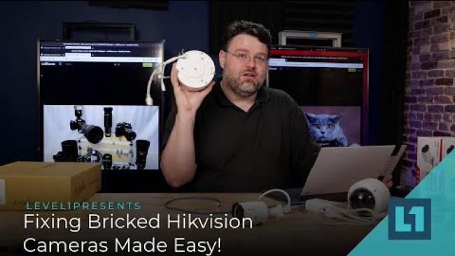 Embedded thumbnail for Fixing Bricked Hikvision Cameras Made Easy!