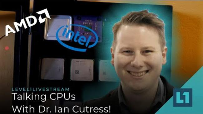 Embedded thumbnail for (Live) AMD called Intel, but they didn't answer -- w/ Dr Ian Cutress