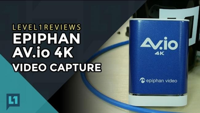 Embedded thumbnail for Epiphan AV.io 4k Video Capture