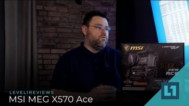 Embedded thumbnail for MSI MEG X570 Ace Motherboard Review