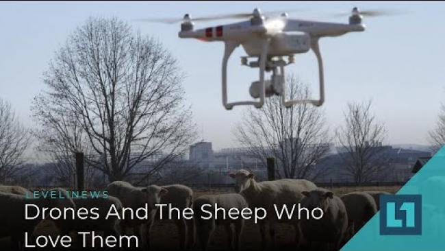 Embedded thumbnail for Level1 News January 1 2020: Drones And The Sheep Who Love Them