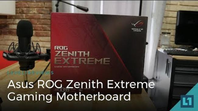 Embedded thumbnail for Asus ROG Zenith Extreme Threadripper Gaming Motherboard Review + Linux Test