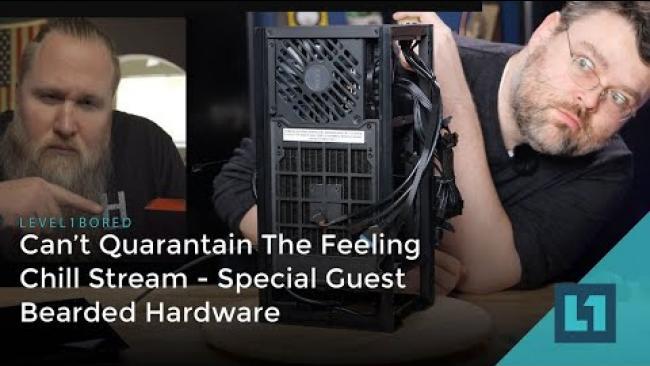 Embedded thumbnail for Level1 Hangout w/ BeardedHardware