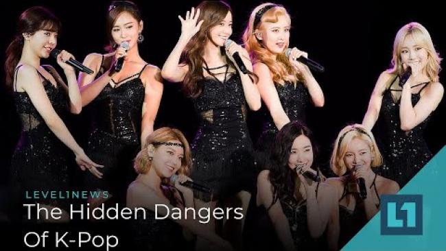Embedded thumbnail for Level1 News January 3 2020: The Hidden Dangers of K-Pop