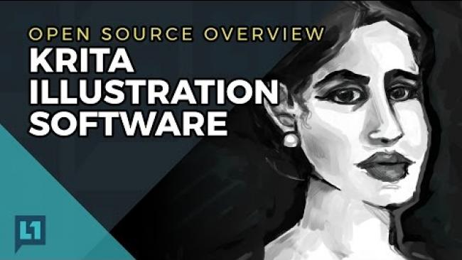 Embedded thumbnail for Open Source Overview: Krita Illustration Software