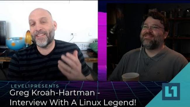 Embedded thumbnail for Computers Barely Work - Interview with Linux Legend Greg Kroah-Hartman