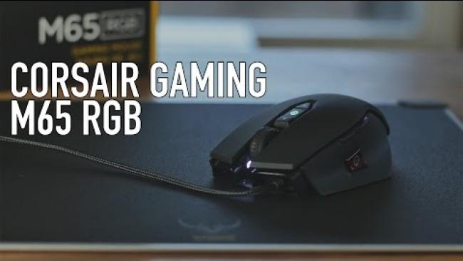 Embedded thumbnail for Corsair Gaming M65 RGB Laser Gaming Mouse Overview