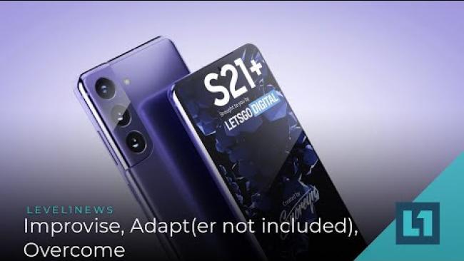 Embedded thumbnail for Level1 News December 16 2020: Improvise, Adapt(er not included), Overcome