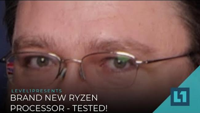 Embedded thumbnail for BRAND NEW RYZEN PROCESSOR - TESTED!