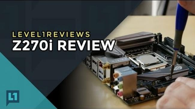 Embedded thumbnail for Asus Strix Z270i Motherboard Review + Linux Test