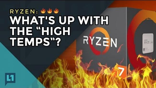 """Embedded thumbnail for Ryzen: What's Up with the """"High Temps""""?"""