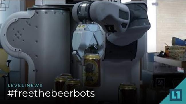 Embedded thumbnail for Level1 News September 4 2018: #freethebeerbots