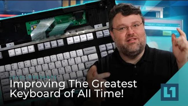 Embedded thumbnail for Improving The Greatest Keyboard of All Time! Model M + QMK = Awesome