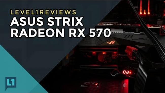 Embedded thumbnail for Asus Strix RX570 Review