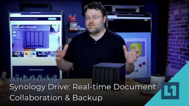 Embedded thumbnail for Synology Drive: Real-time Collaboration & Backup