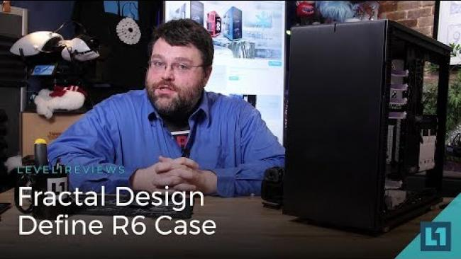 Embedded thumbnail for Fractal Design Define R6 Case Review ft. w/Threadripper Build